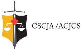 The Canadian Superior Courts Judges Association (CSCJA) Logo